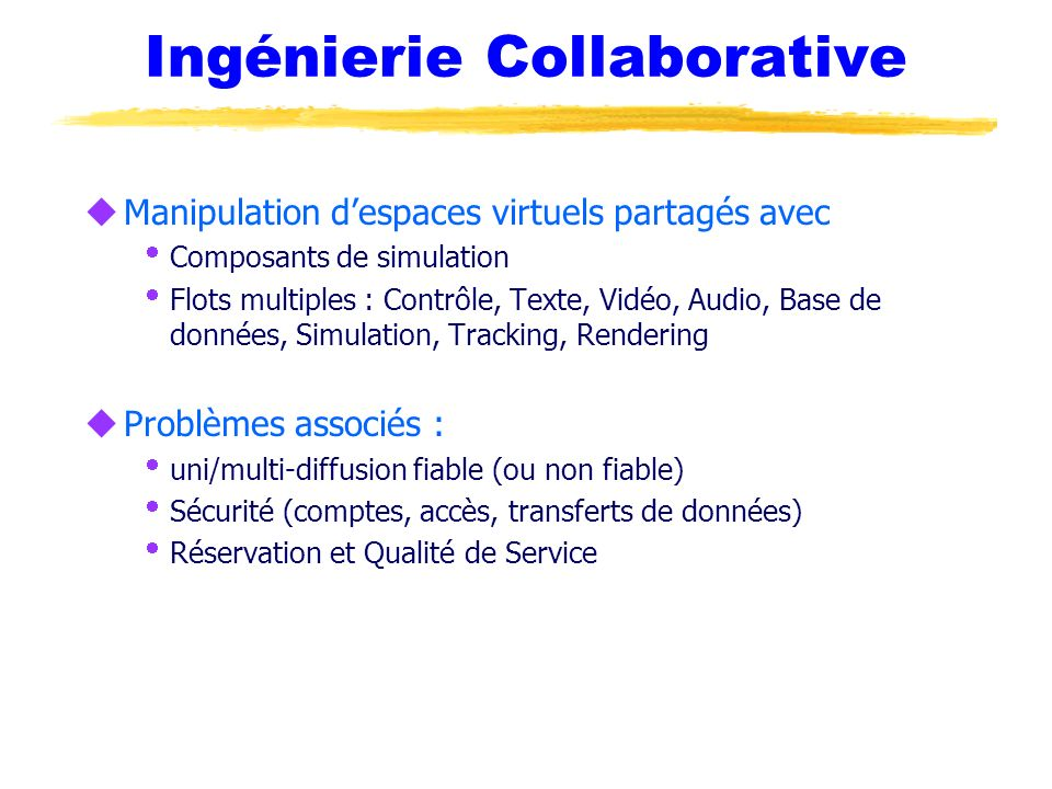 Ingénierie Collaborative