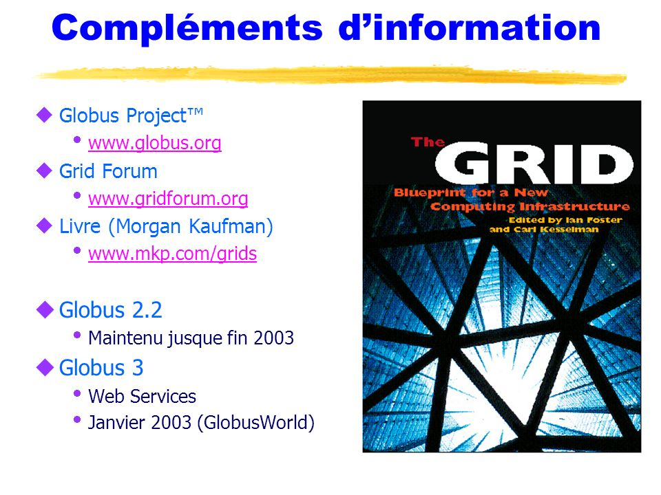 Compléments d'information