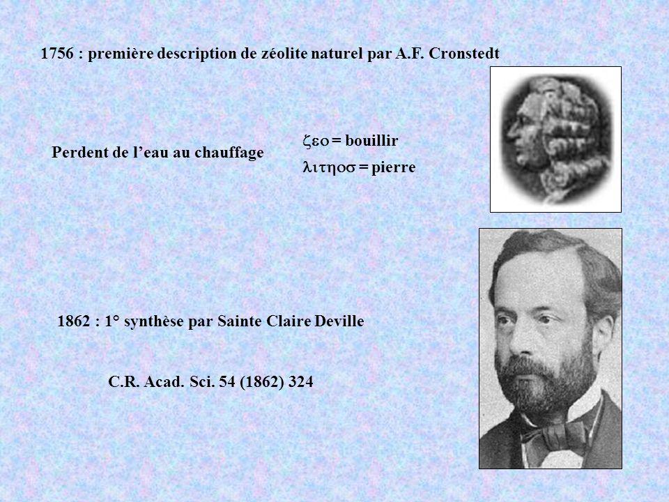 1862 : 1° synthèse par Sainte Claire Deville