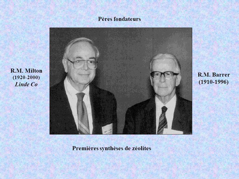 R.M. Milton Linde Co R.M. Barrer (1910-1996)