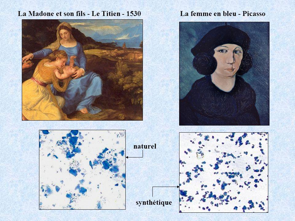 La femme en bleu - Picasso