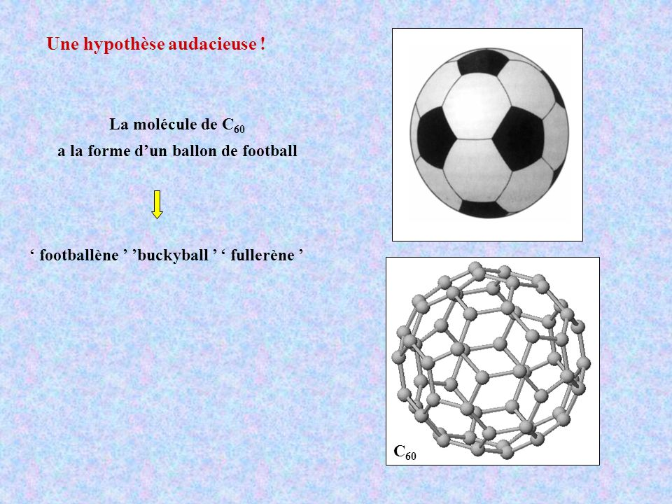 a la forme d'un ballon de football
