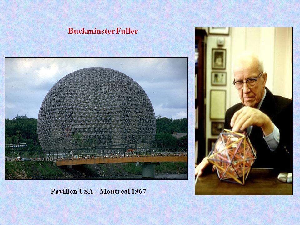 Buckminster Fuller Pavillon USA - Montreal 1967