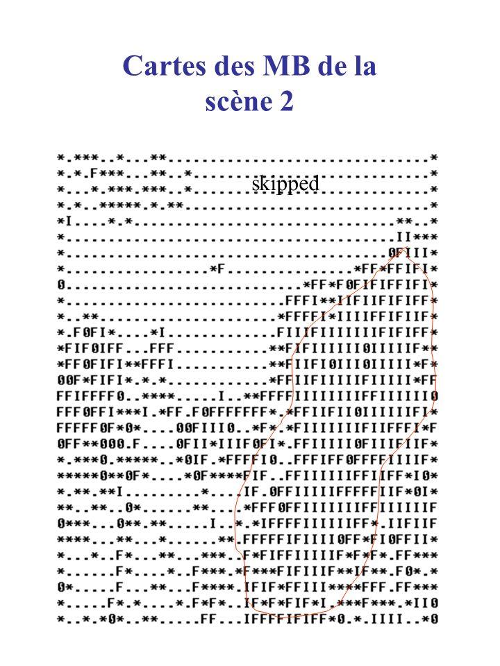 Cartes des MB de la scène 2