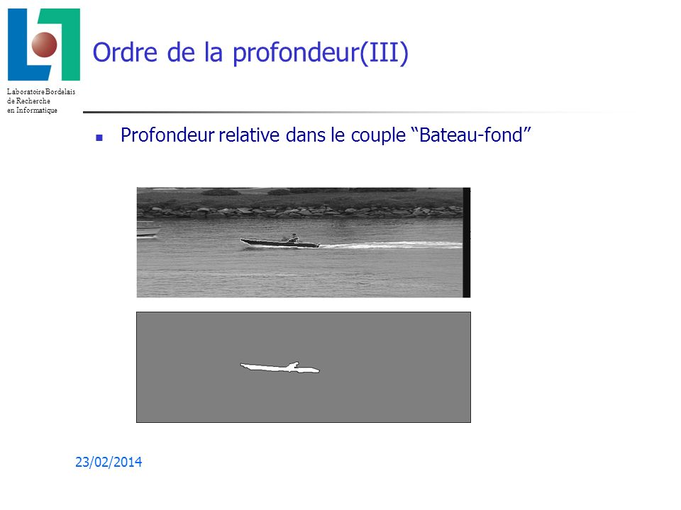 Ordre de la profondeur(III)