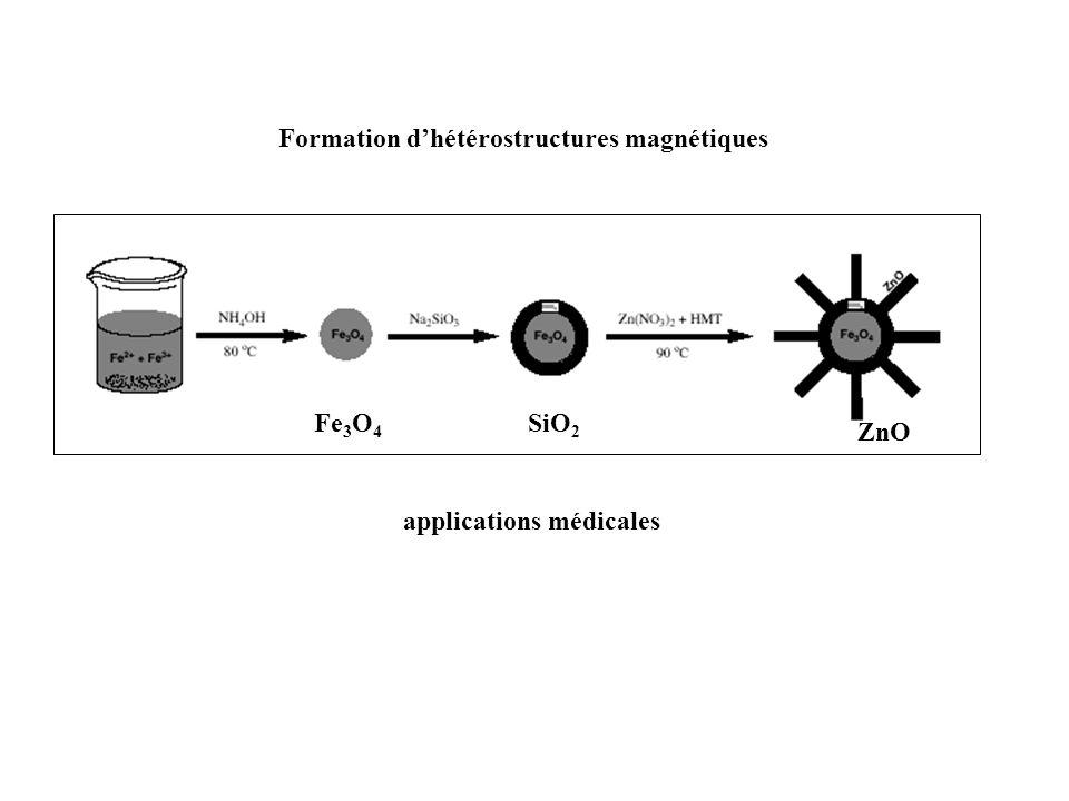 Formation d'hétérostructures magnétiques