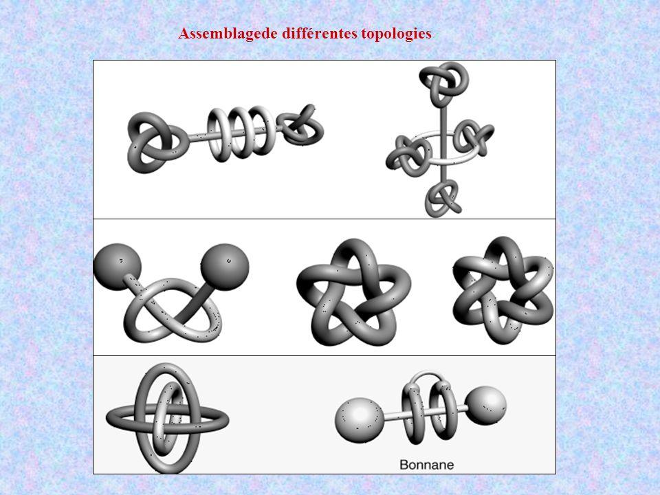 Assemblagede différentes topologies