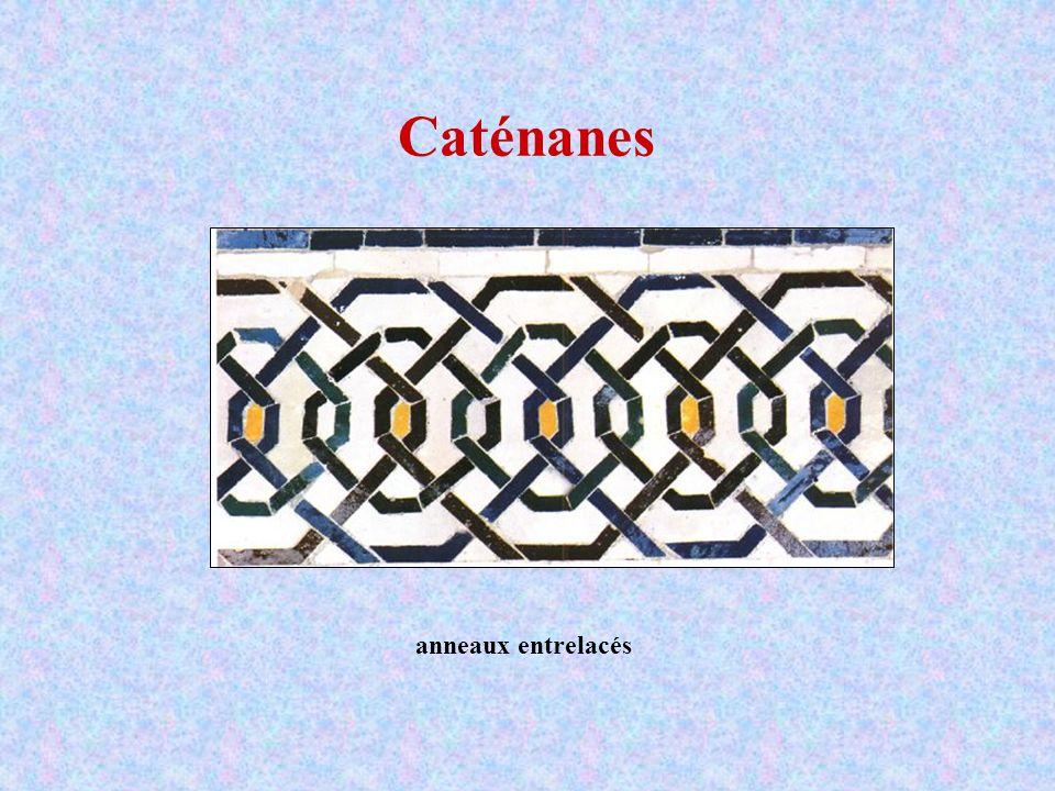 Caténanes anneaux entrelacés