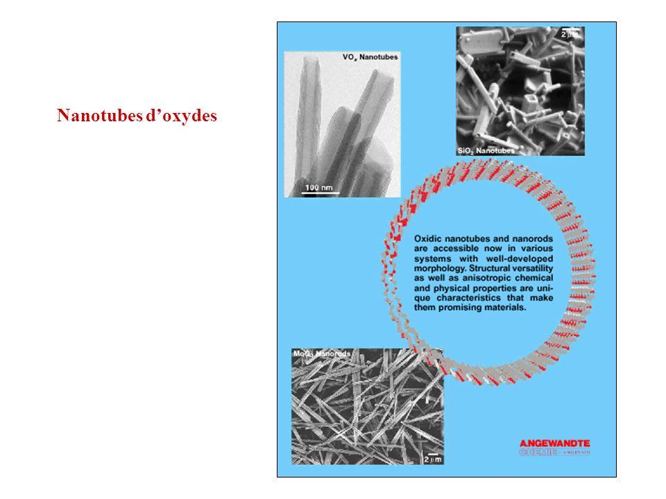 Nanotubes d'oxydes