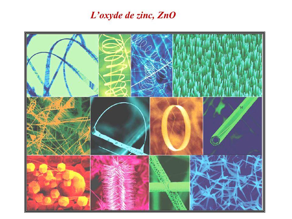 L'oxyde de zinc, ZnO