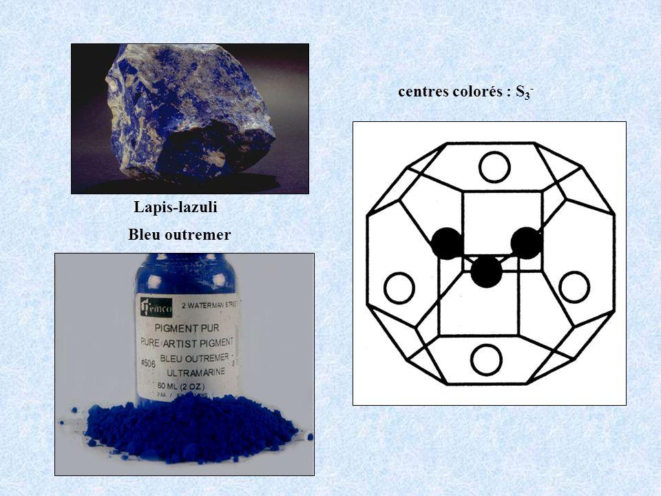 centres colorés : S3- Lapis-lazuli Bleu outremer
