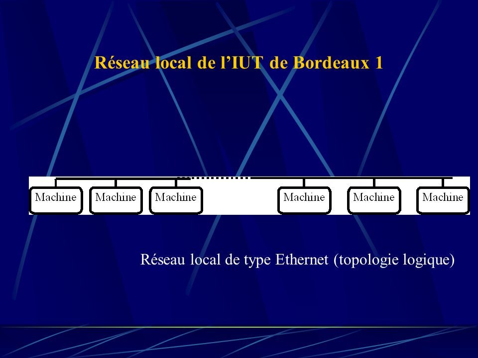 Réseau local de l'IUT de Bordeaux 1