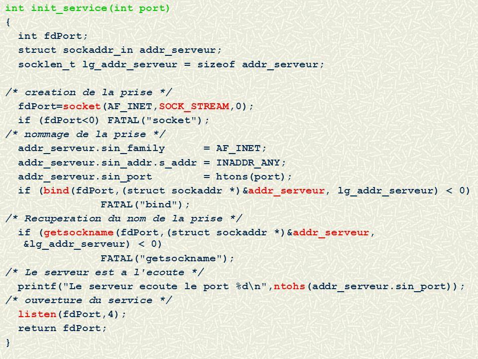 int init_service(int port)
