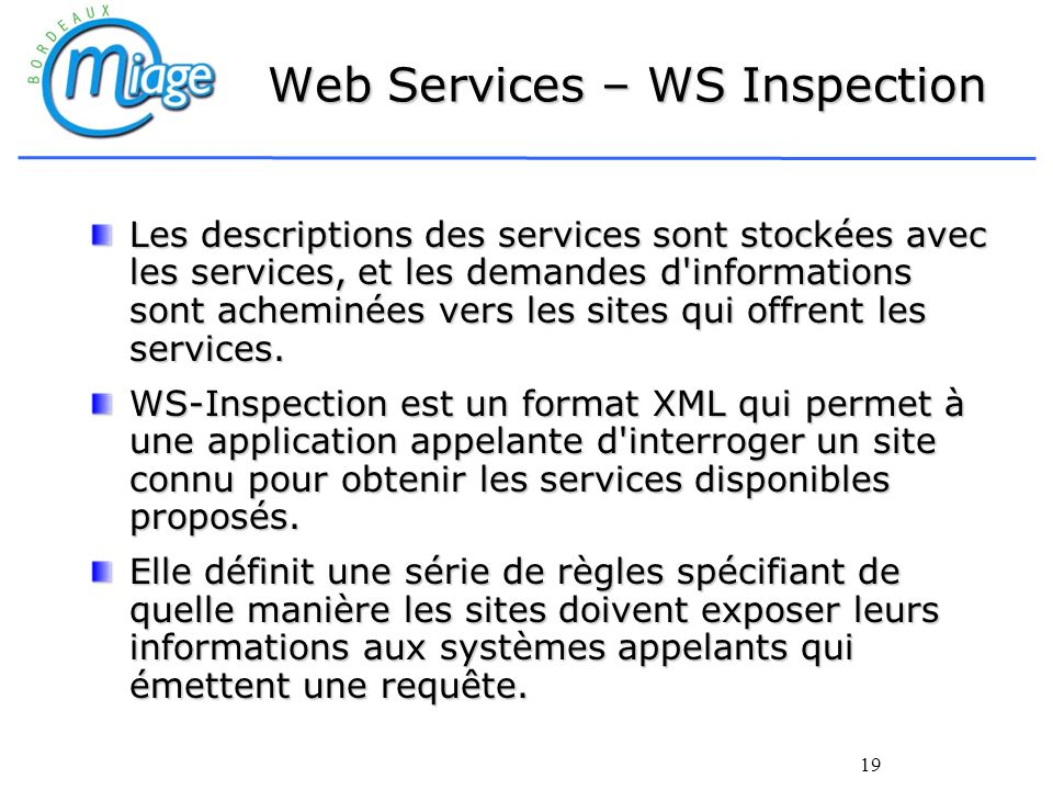 Web Services – WS Inspection
