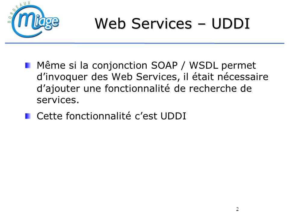 Web Services – UDDI