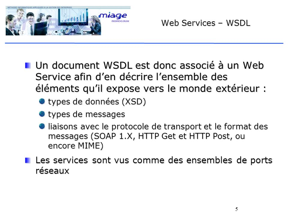 Web Services – WSDL