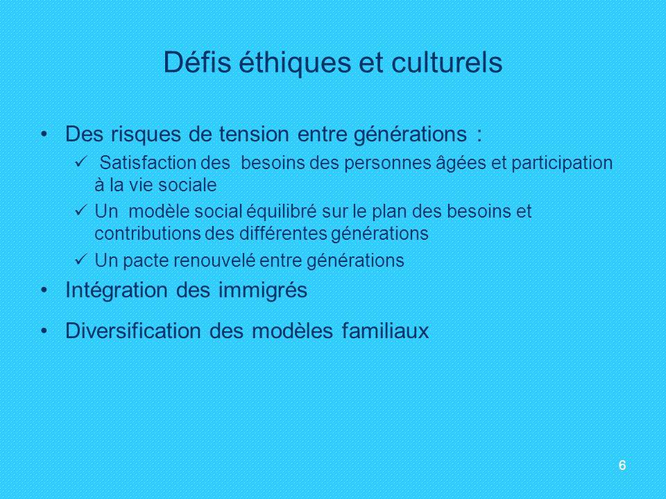 Défis éthiques et culturels