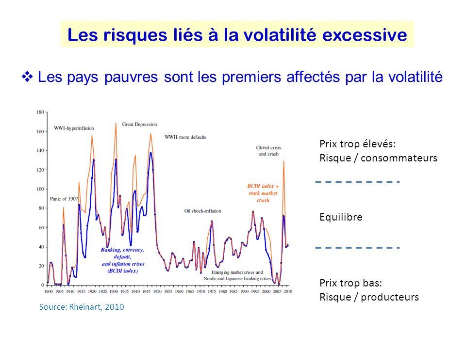 Les risques liés à la volatilité excessive