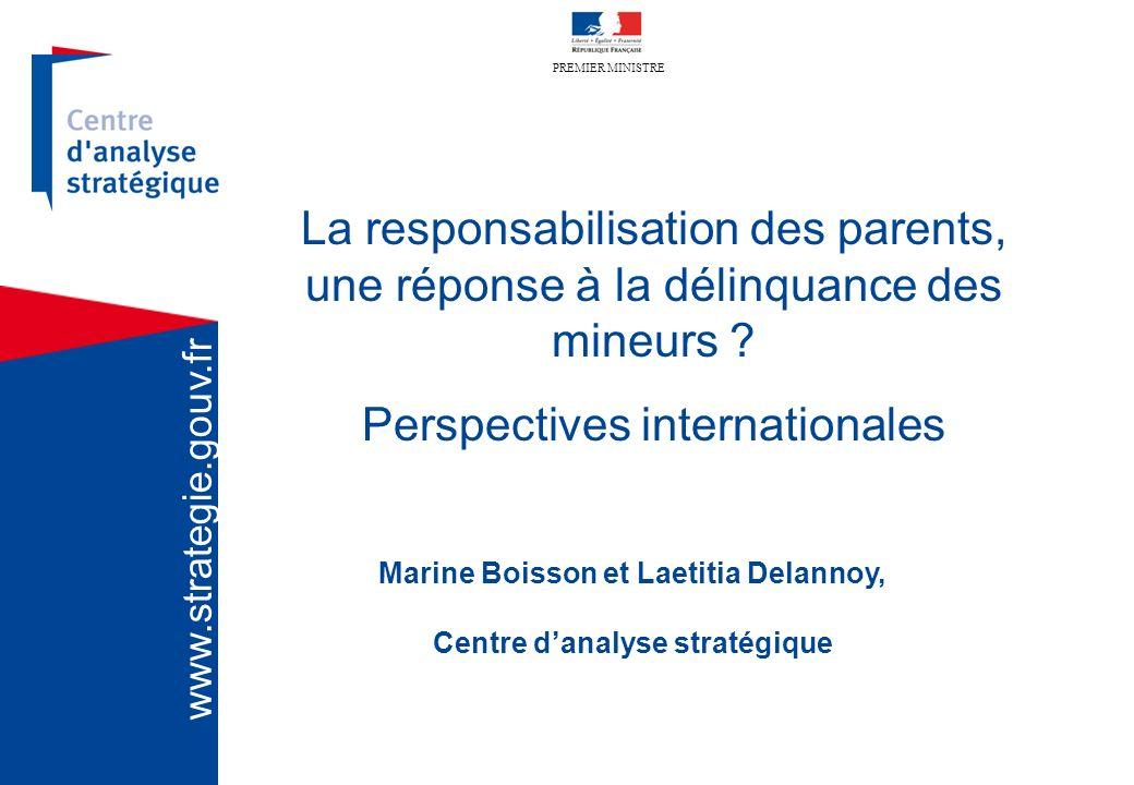 Marine Boisson et Laetitia Delannoy, Centre d'analyse stratégique