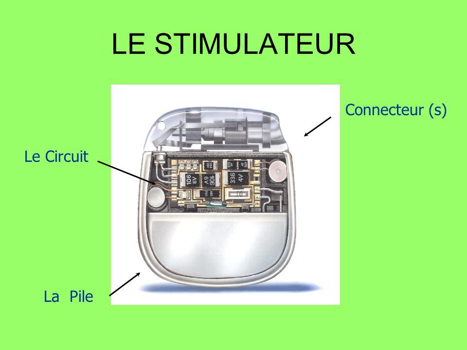 LE STIMULATEUR Connecteur (s) Le Circuit La Pile