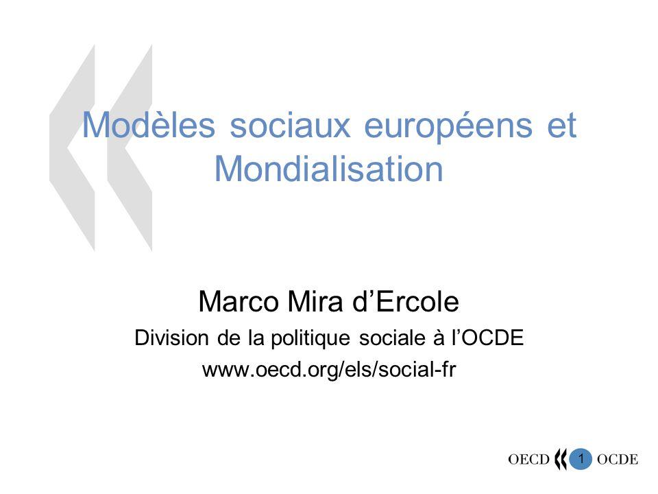 Modèles sociaux européens et Mondialisation