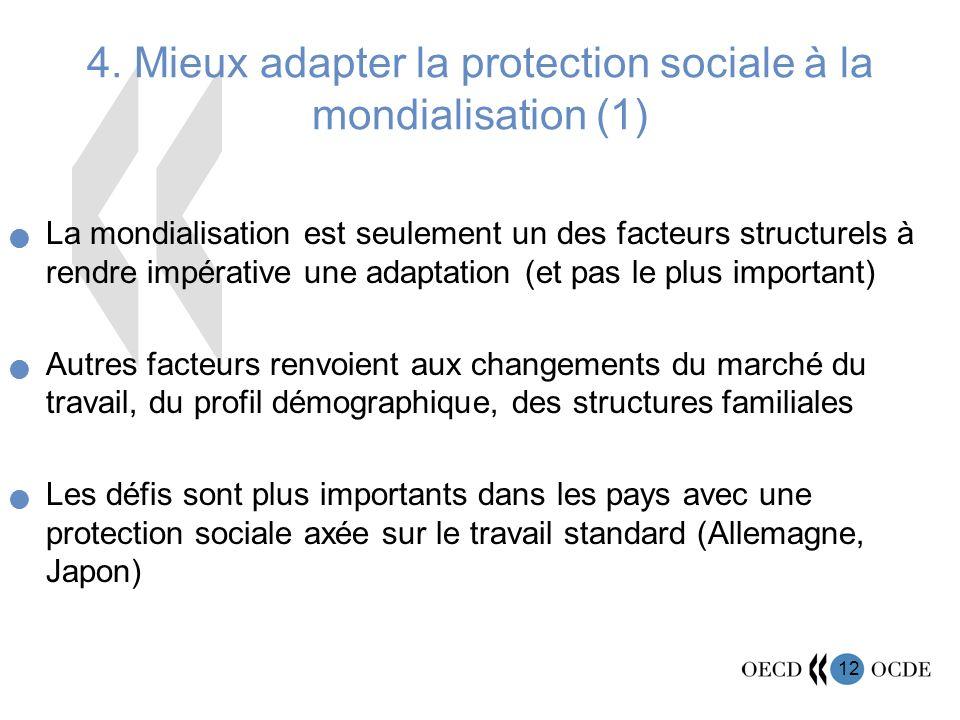 4. Mieux adapter la protection sociale à la mondialisation (1)