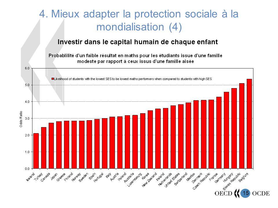 4. Mieux adapter la protection sociale à la mondialisation (4)