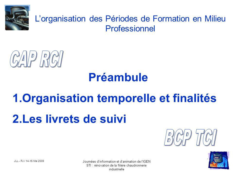 L'organisation des Périodes de Formation en Milieu Professionnel