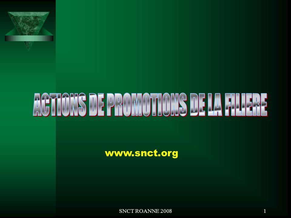 ACTIONS DE PROMOTIONS DE LA FILIERE