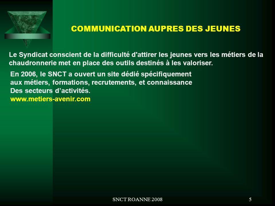 COMMUNICATION AUPRES DES JEUNES