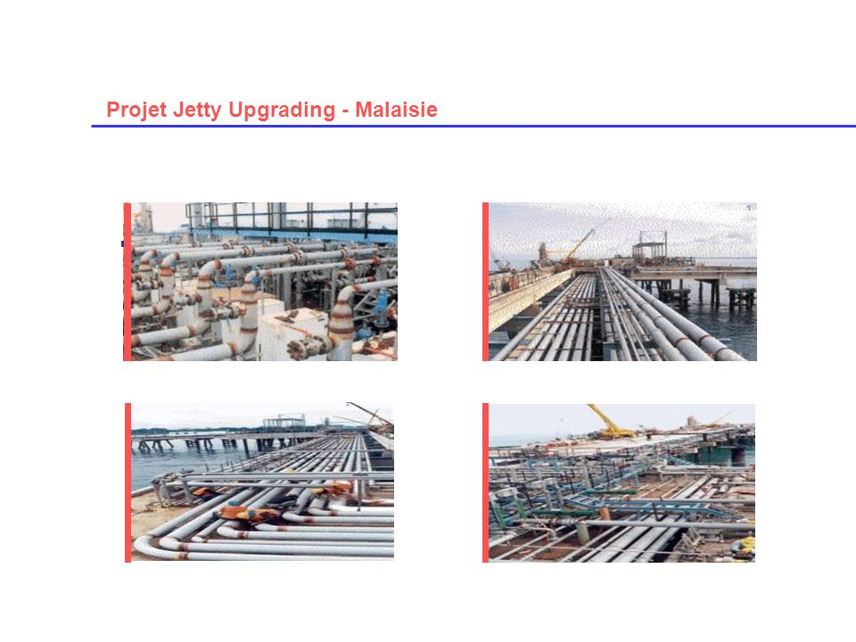 Projet Jetty Upgrading - Malaisie