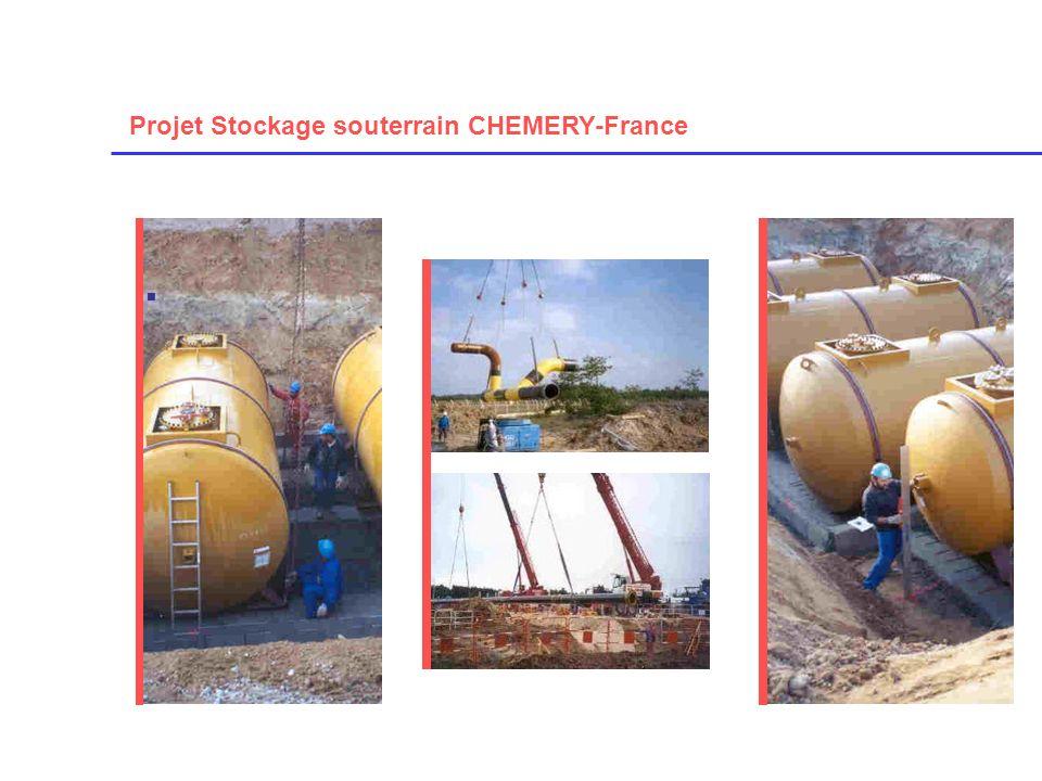 Projet Stockage souterrain CHEMERY-France