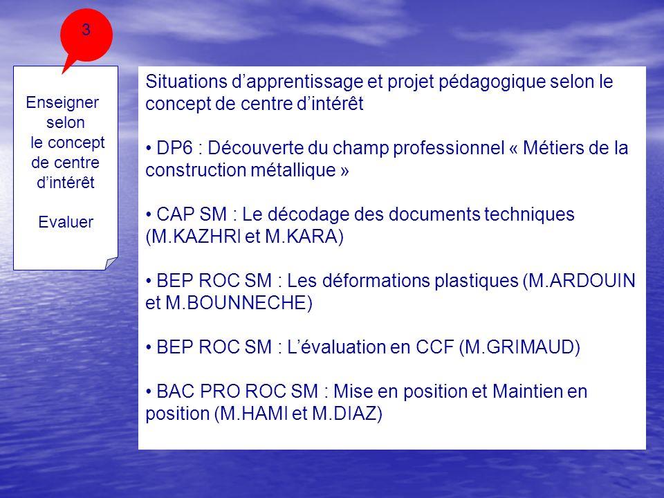 CAP SM : Le décodage des documents techniques (M.KAZHRI et M.KARA)