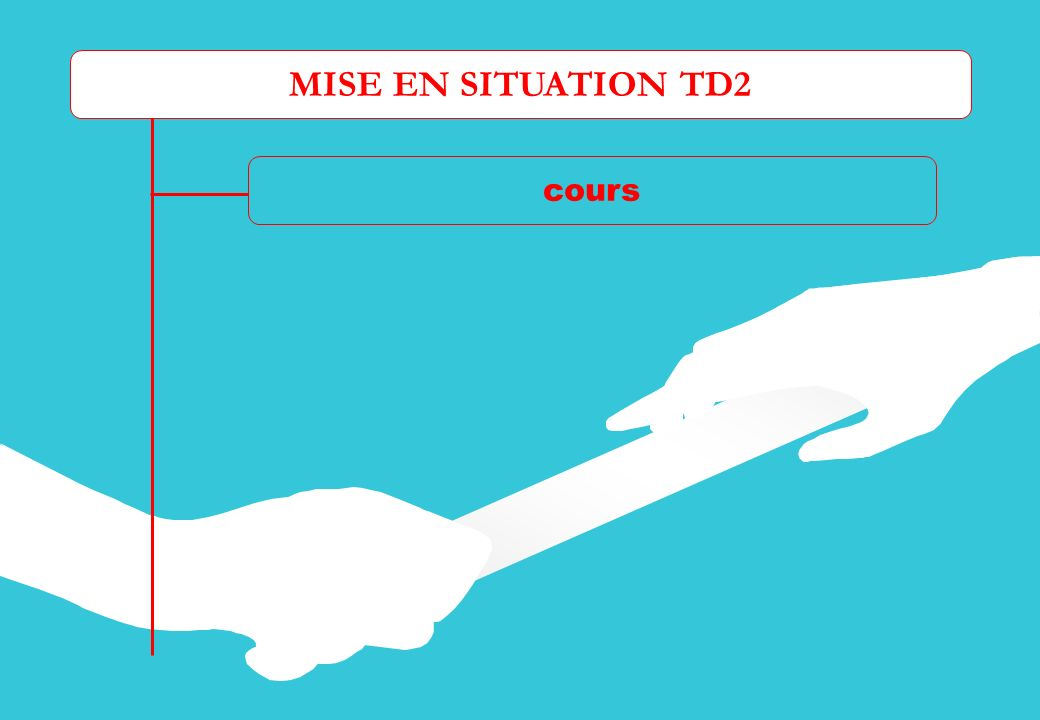 MISE EN SITUATION TD2 cours Dossier ressource