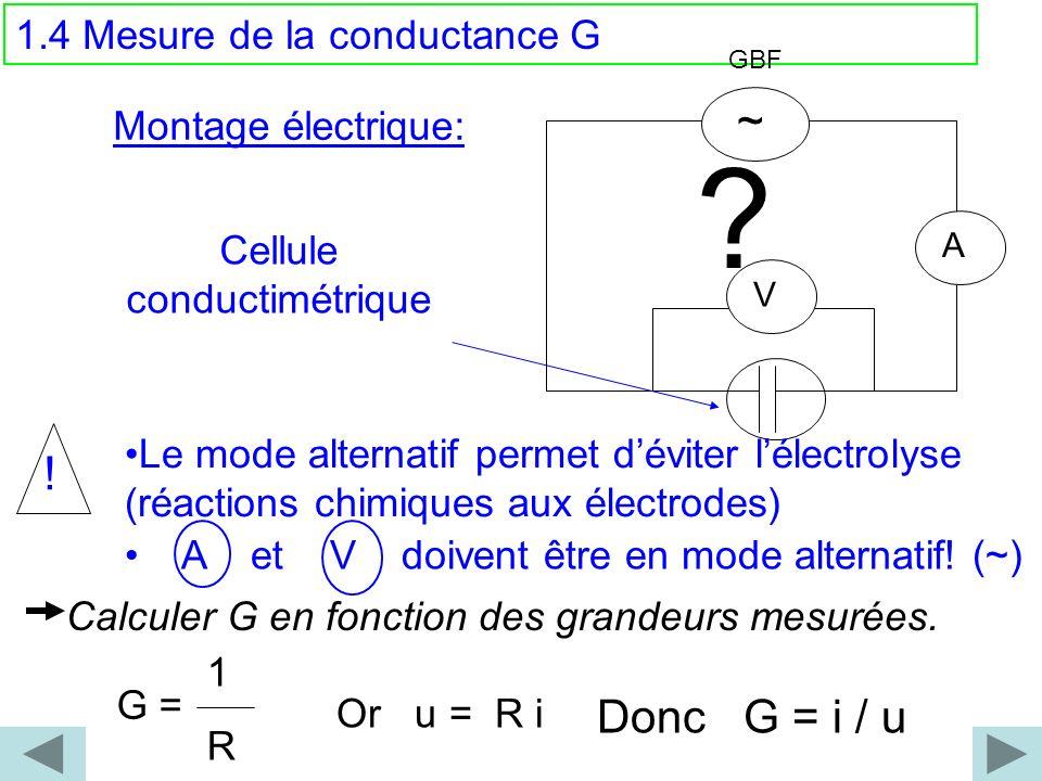 Cellule conductimétrique