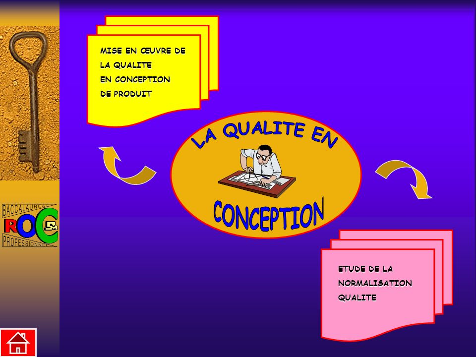 LA QUALITE EN CONCEPTION