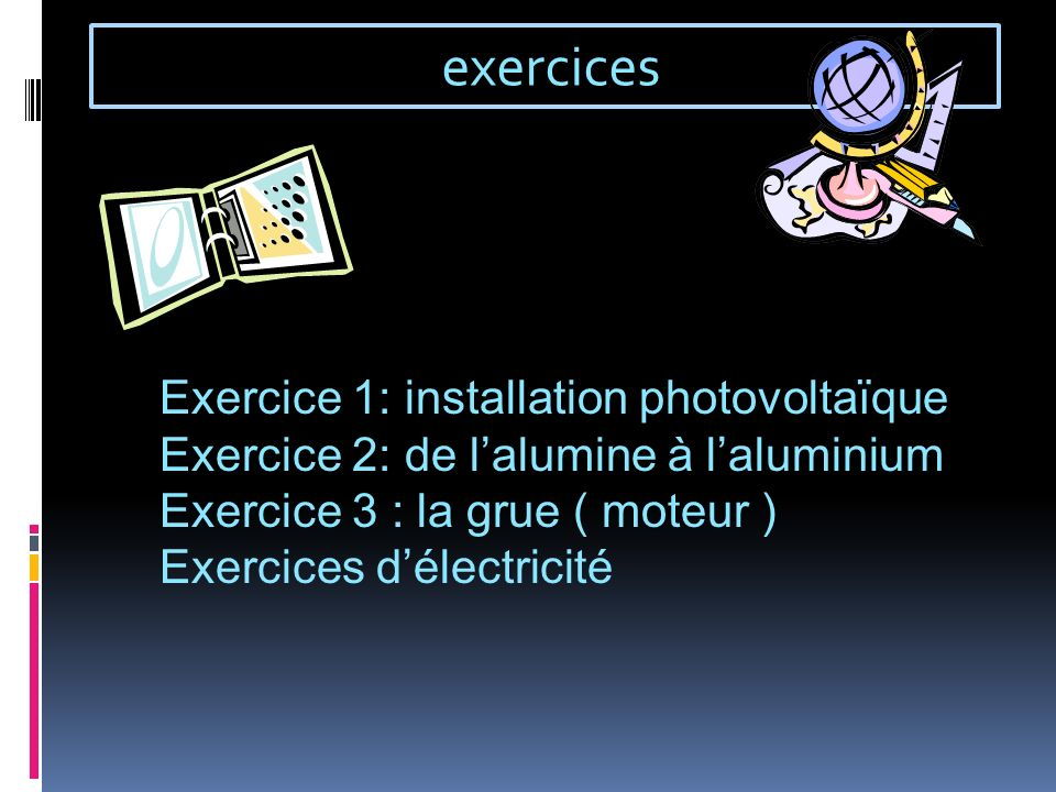exercices Exercice 1: installation photovoltaïque