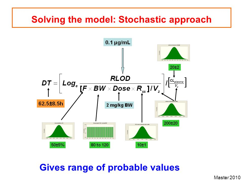 Solving the model: Stochastic approach