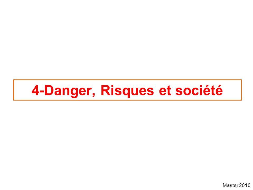 4-Danger, Risques et société