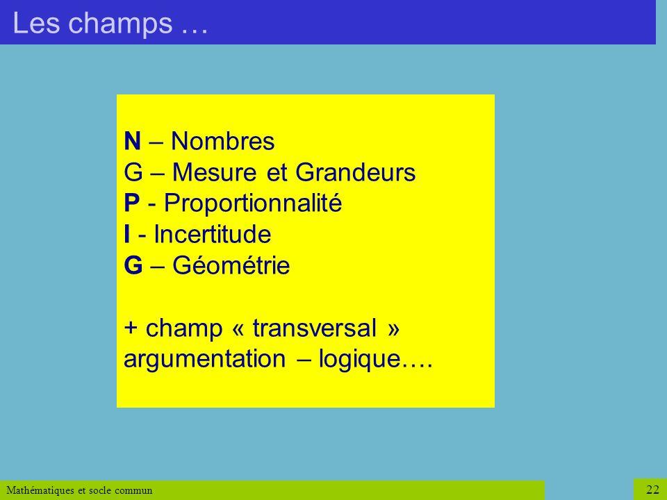 argumentation – logique….