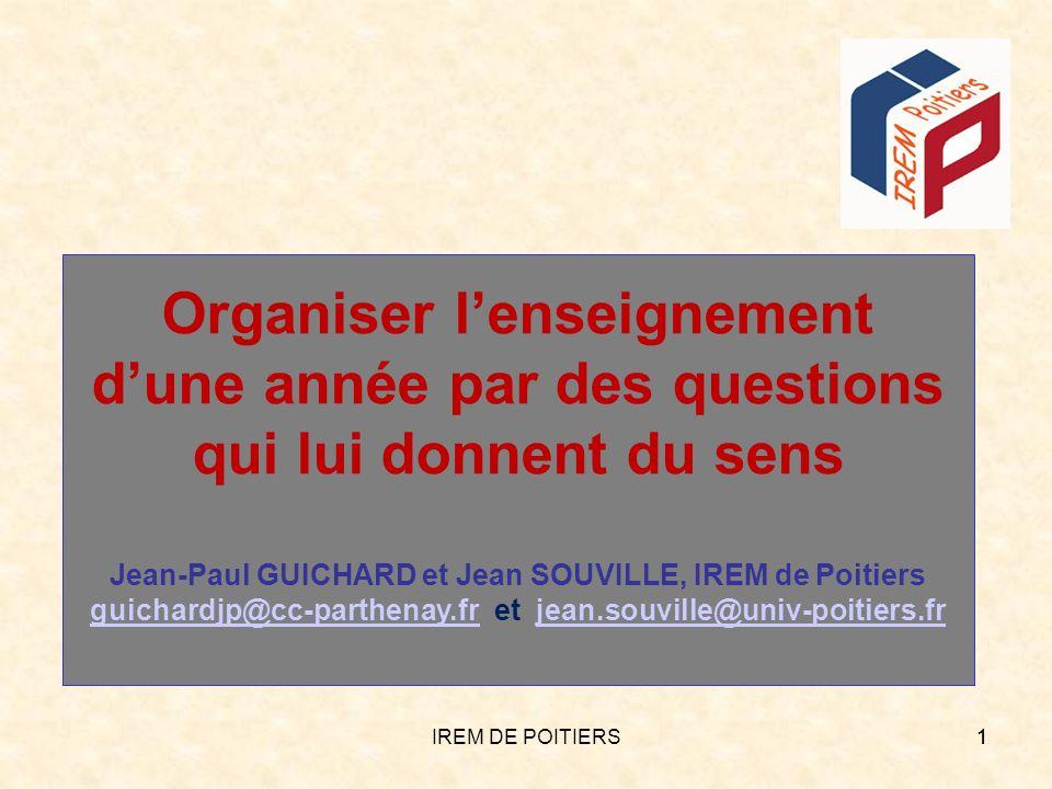 guichardjp@cc-parthenay.fr et jean.souville@univ-poitiers.fr