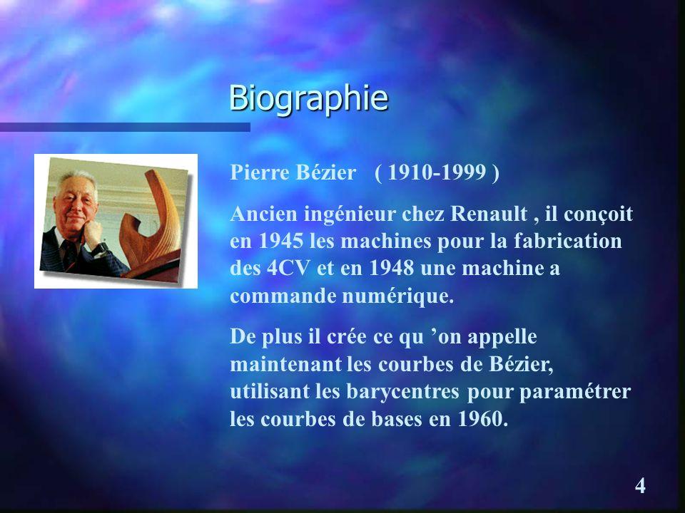 Biographie Pierre Bézier ( 1910-1999 )