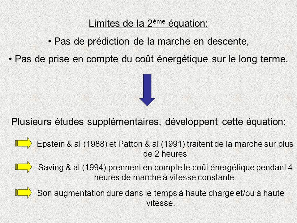 Limites de la 2ème équation: