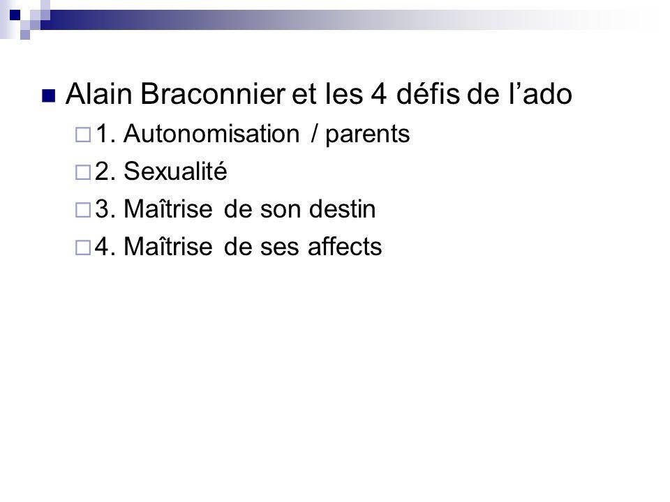 Alain Braconnier et les 4 défis de l'ado