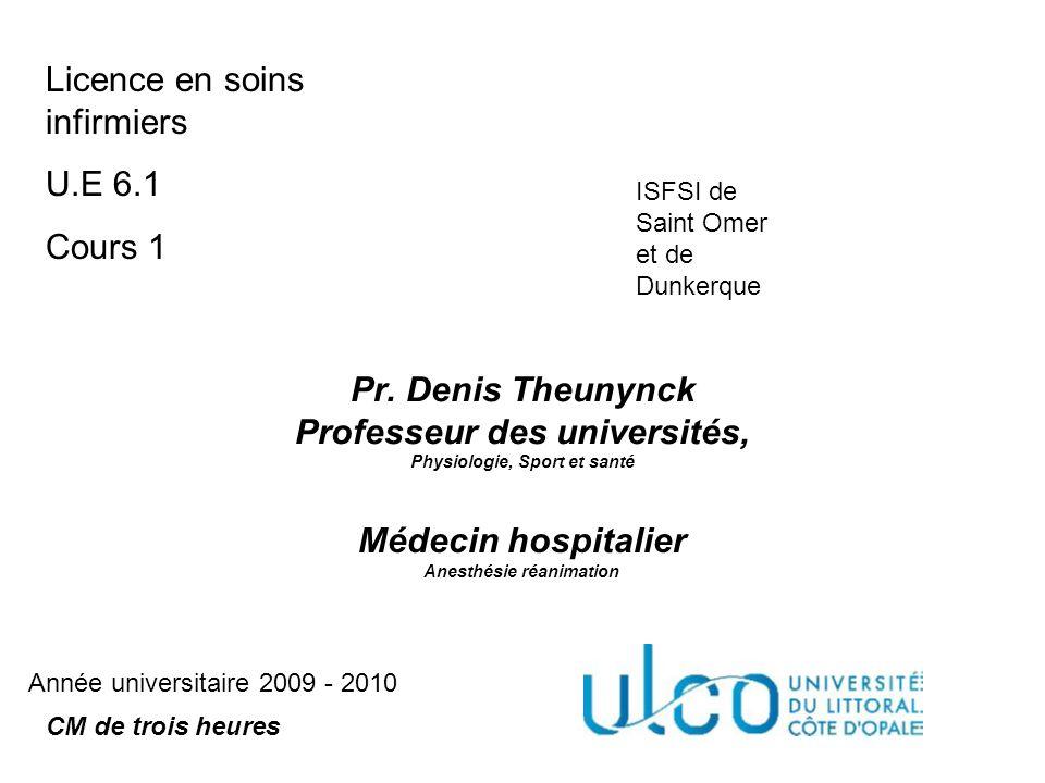 Médecin hospitalier Anesthésie réanimation