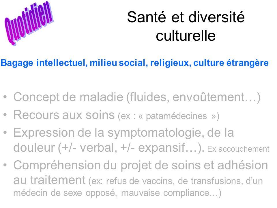 Santé et diversité culturelle