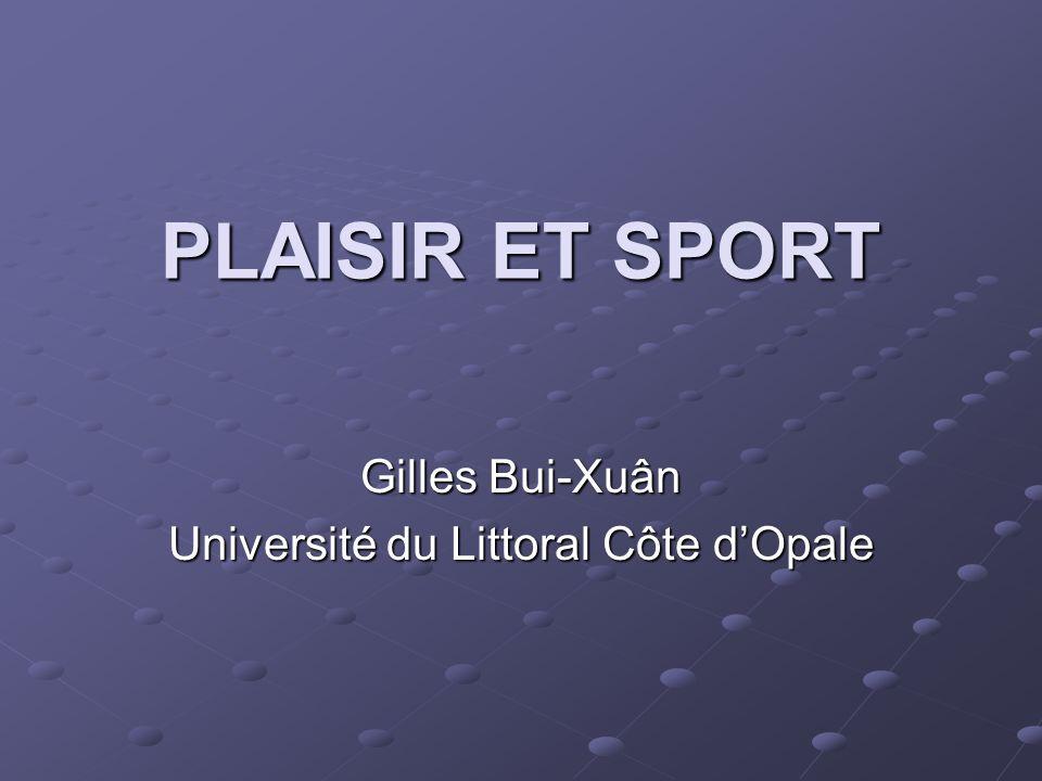 Gilles Bui-Xuân Université du Littoral Côte d'Opale