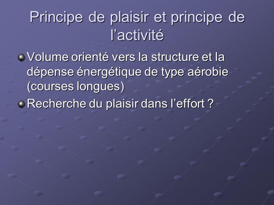 Principe de plaisir et principe de l'activité