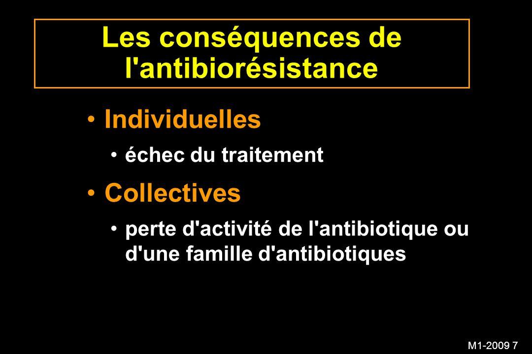 Les conséquences de l antibiorésistance
