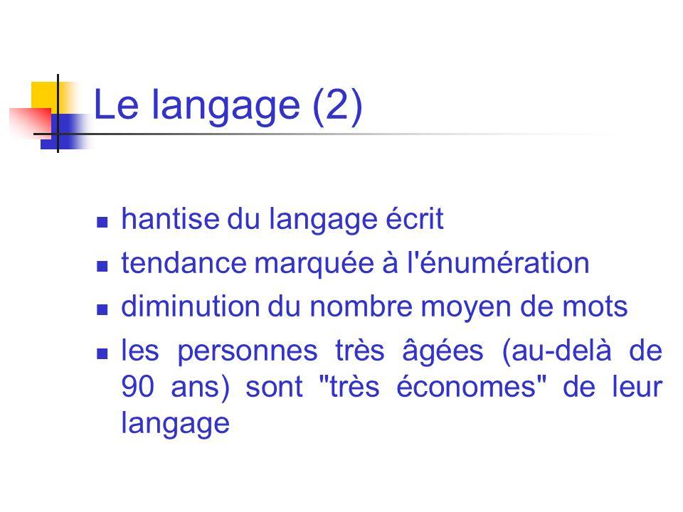 Le langage (2) hantise du langage écrit